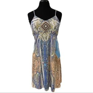 The Pyramid Collection Multicolored Dress Sz S